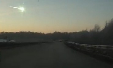 Meteorite lands in Russia, February 15, 2013