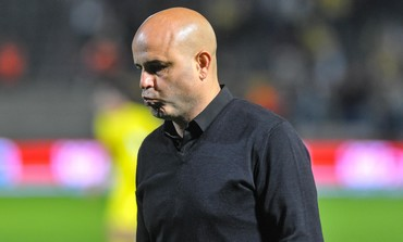 Former Hapoel Tel Aviv coach Yossi Abuksis.