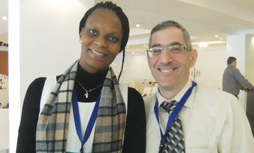 DR OSE OKOYE and PROF YEHUDA NEUMARK.