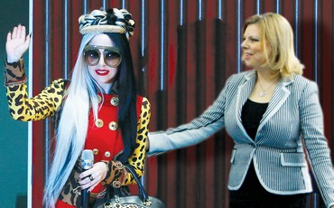 SARA NETANYAHU looks to her mentor pop artist Lady Gaga
