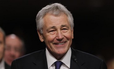 US Secretary of Defense Chuck Hagel, January 31, 2013.