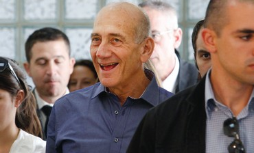 Ehud Olmert after verdict.