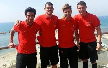 Cristiano Ronaldo, Portugal soccer players in Israel