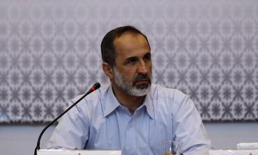 Syrian opposition leader Moaz Alkhatib
