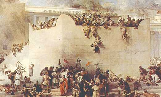 THE DESTRUCTION of the Temple of Jerusalem, depicted in an oil painting by Francesco HayezTwo tendencies