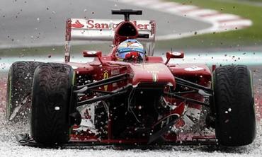 Ferrari Formula One driver Fernando Alonso of Spain