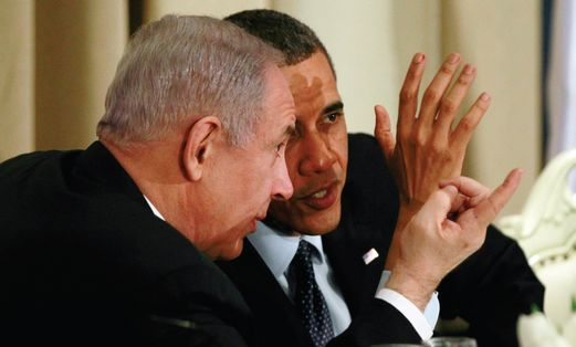 Obama meeting with Netanyahu