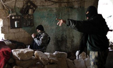 Nusra Front fighters