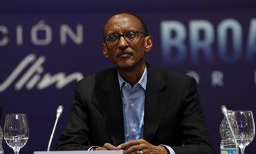 Current Rwandan President Paul Kagame
