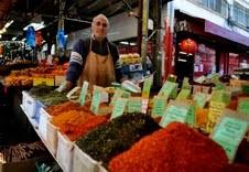 Spices vendor, Carmel Market, Tel Aviv.