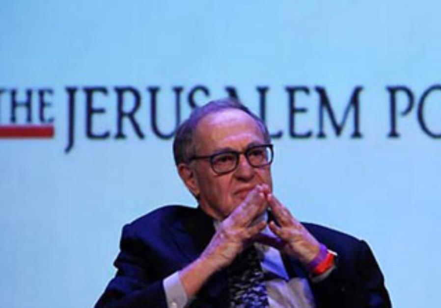 Alan Dershowitz at the Jerusalem Post conference in New York, April 2013.