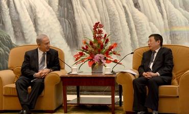 Netanyahu meets Shanghai mayor