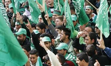 Palestinian Hamas rally