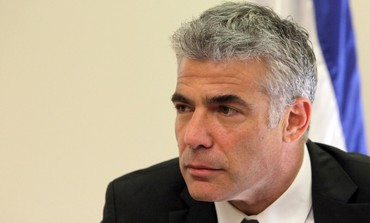 Finance Minister Yair Lapid/
