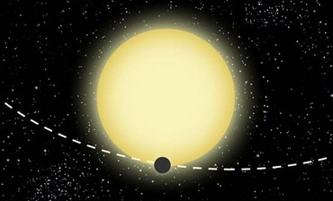 Illustration of Kepler-76b by Dood Evan.