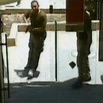 Security forces storm a branch of Bank Hapoalim where a deadly shooting occured Monday.