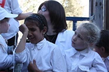 Sephardi school girl discriminated against [Illustrative].