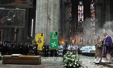 THE FUNERAL of Cardinal Carlo Maria Martini