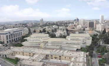 ARTISTS RENDERING of Bezalel Academy of Art and Design, scheduled to be completed in 2017.