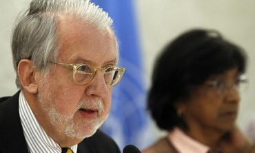 UN chair of the Commission of Inquiry on Syria Paulo Pinheiro.