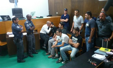 Bar Noar suspects in court, June 23, 2013.