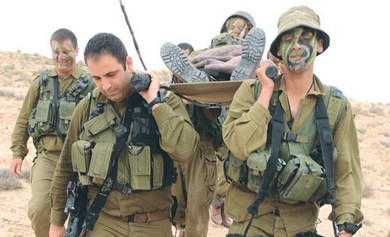 CARACAL BATTALION soldiers take part in a drill for extreme scenarios.