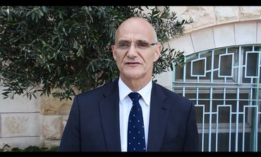 European Union's Ambassador to Israel Andrew Standley speaks to the Post, June 26, 2013.