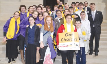 STUDENTS AND staff of the Torah Day School of Atlanta