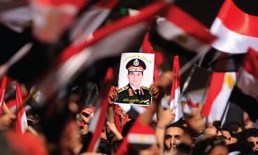 Egypt's Defense Minister Abdel Fattah al-Sisi