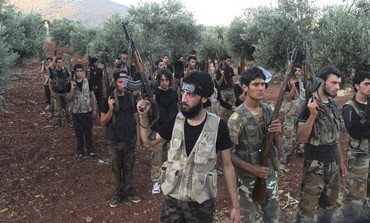 Syrian oppositionists fighting the Assad regime