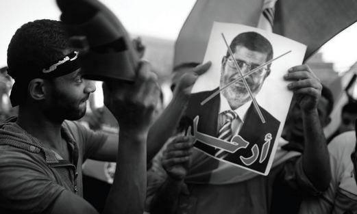 Morsi Protestors