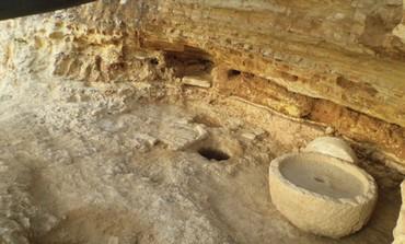 Ancient olive press found in Jerusalem