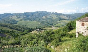 Tuscany region of Italy