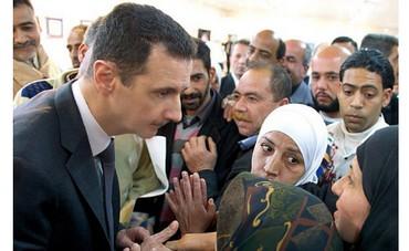 Syrian President Bashar Assad on Instagram