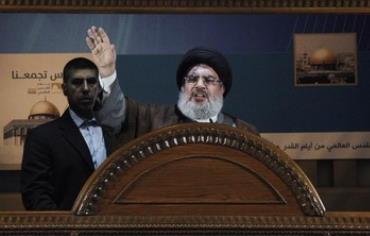Lebanon's Hezbollah leader Sayyed Hassan Nasrallah makes a rare public appearance.