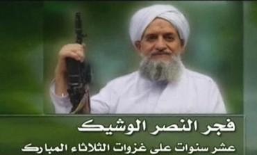 Al-Qaida's new leader, Egyptian Ayman al-Zawahiri.