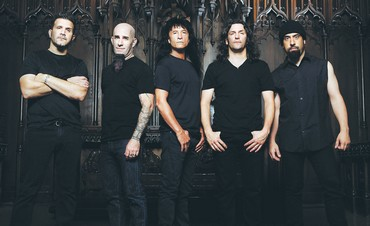 Heavy metal band Anthrax