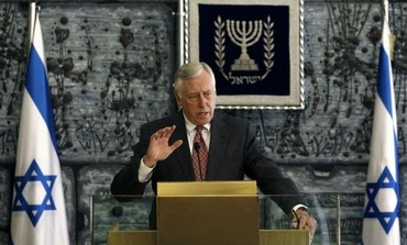 Democratic Congressman Steny Hoyer during a visit to Israel in 2011.