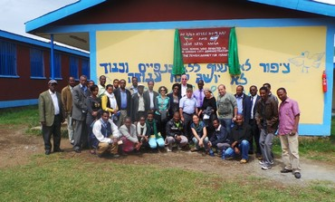 The final group of Ethiopian olim prepare for Israel.