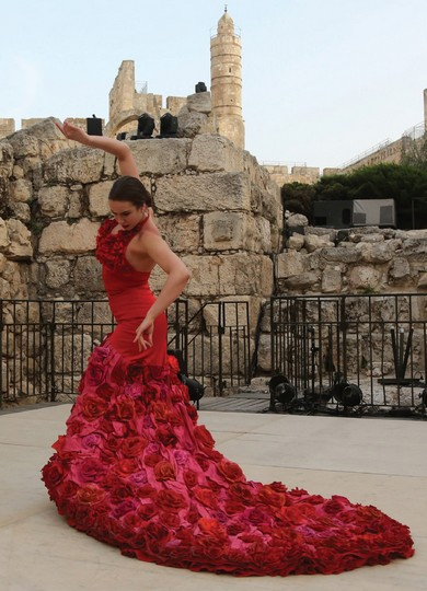 Flamenco at the Tower of David