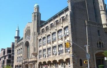 Zysman Hall at Yeshiva University, NYC.