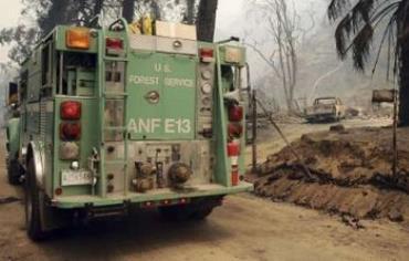 US fire truck (illustrative)