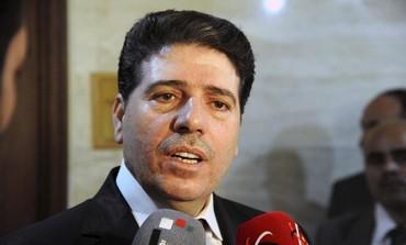 Syrian Prime Minister Wael al-Halki .
