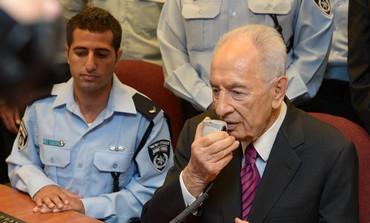 President Shimon Peres, August 29, 2013.