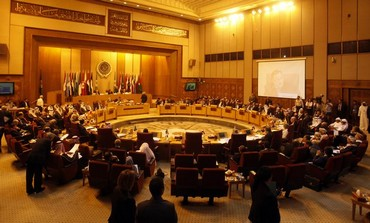 Arab League meets to discuss the Syrian crisis, September 1, 2013.
