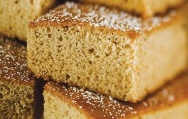 Spelt Honey Cake