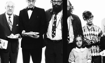 RICHARD AVEDON'S 'Allen Ginsburg's family, Paterson, New Jersey, May 3, 1970.'