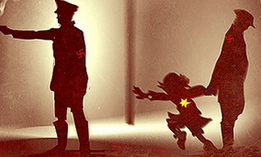 An image from the Holocaust-themed video game 'Imagination is the Only Escape'.
