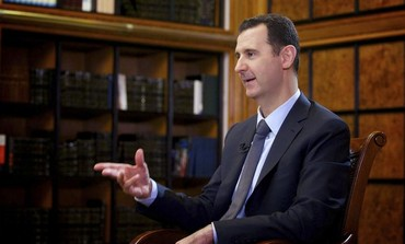 Bashar Assad gives an interview to Russian TV
