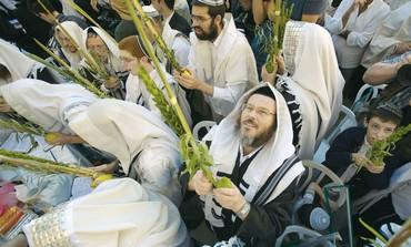 Jews celebrate Succot